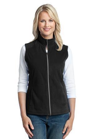 Port Authority - Ladies Microfleece Vest. L226