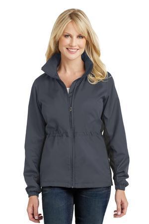 Port Authority Ladies Core Colorblock Wind Jacket L330