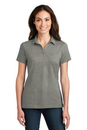 Port Authority Ladies Meridian Cotton Blend Polo. L577