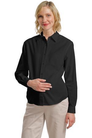 Port Authority - Maternity Long Sleeve EasyCare Shirt. L608M