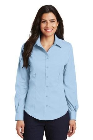 Port Authority Ladies Non-Iron Twill Shirt.  L638