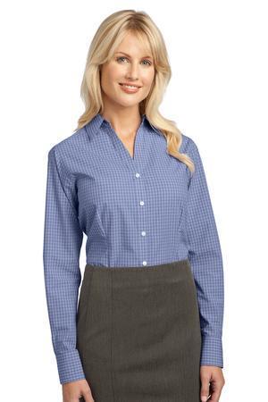 Port Authority - Ladies Plaid Pattern Easy Care Shirt. L639