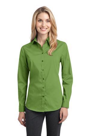 Port Authority - Ladies Stretch Poplin Shirt. L646