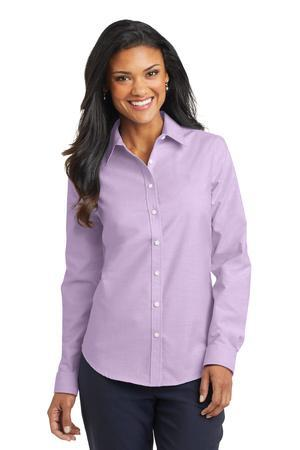 Port Authority Ladies SuperPro Oxford Shirt.L658