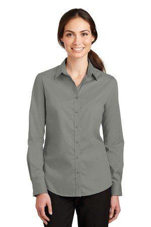 Port Authority Ladies SuperPro Twill Shirt. L663