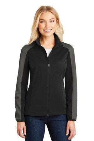 Port Authority Ladies Active Colorblock Soft Shell Jacket L718