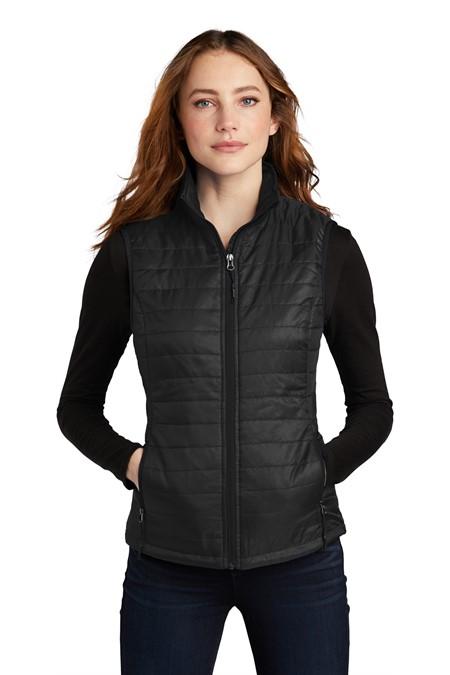 Port Authority  Ladies Packable Puffy Vest L851