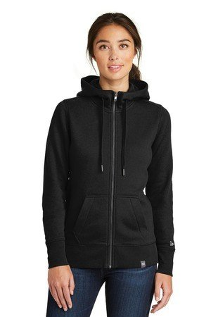 New Era  Ladies French Terry Full-Zip Hoodie. LNEA502