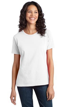 Port and Company - Ladies Essential Ring SpunCotton T-Shirt. LPC150