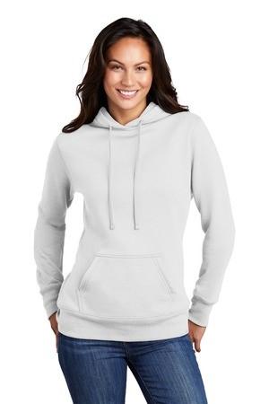Port & Company Ladies Core Fleece Pullover Hooded Sweatshirt LPC78H