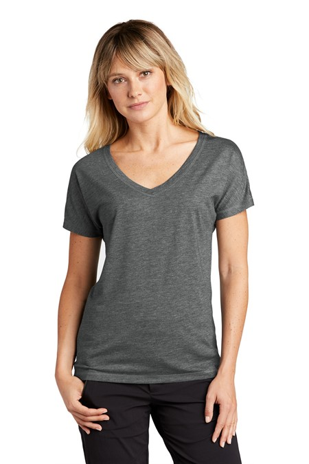 Sport-Tek Ladies PosiCharge Tri-Blend Wicking Dolman Tee LST401