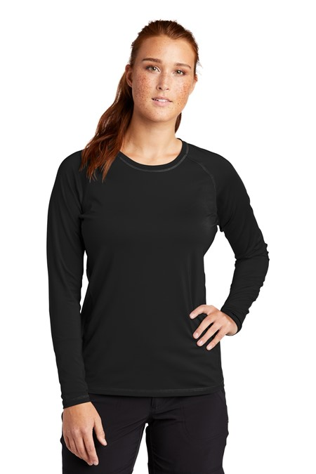 Sport-Tek Ladies Long Sleeve Rashguard Tee LST470LS
