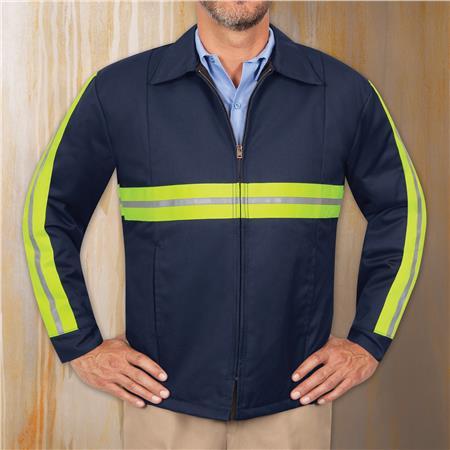 Enhanced Visibility Perma-Lined Panel Jacket JT50EN