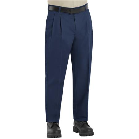 Pleated Twill Slacks PT38NV