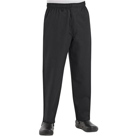 Baggy Chef Pant with Zipper Fly PT55BK