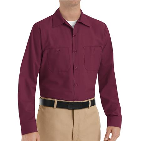 Red Kap® Men's Long-Sleeve Work Shirt  SP14BY