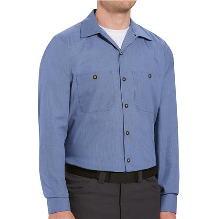 Red Kap® Men's Long-Sleeve Work Shirt SP14DN
