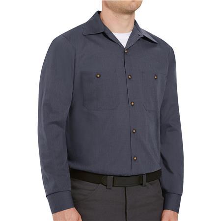 Red Kap® Men's Long-Sleeve Work Shirt SP14GB