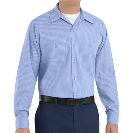 Red Kap® Men's Long-Sleeve Work Shirt  SP14ML