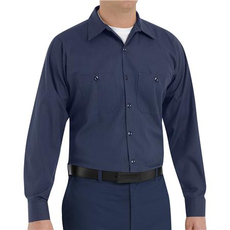 Red Kap® Men's Long-Sleeve Work Shirt  SP14NL