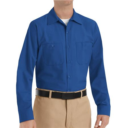 Red Kap® Men's Long-Sleeve Work Shirt  SP14RB