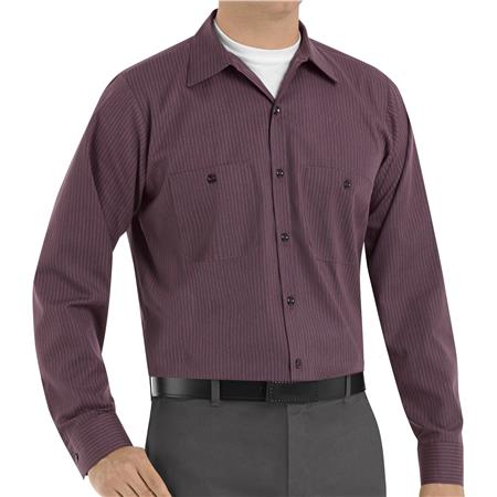 Red Kap® Men's Long-Sleeve Work Shirt  SP14RC