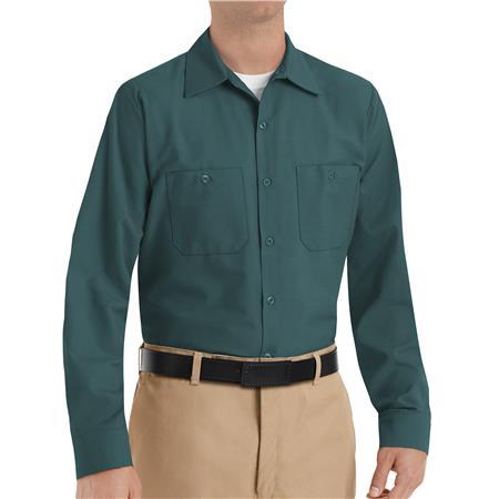 Red Kap® Men's Long-Sleeve Work Shirt SP14SG