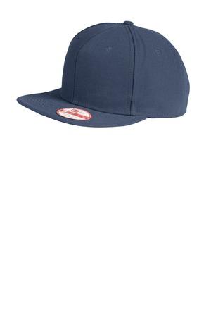 New Era Original Fit Flat Bill Snapback Cap. NE402