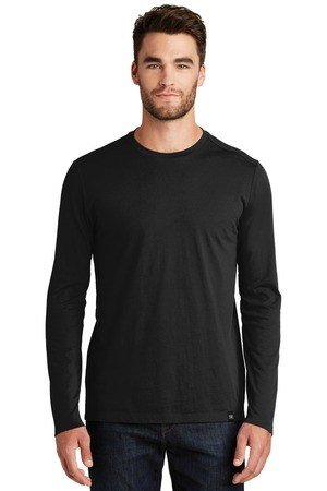 New Era Heritage Blend Long Sleeve Crew Tee NEA102