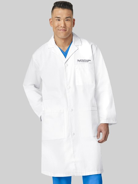 Men's White Lab Coat
