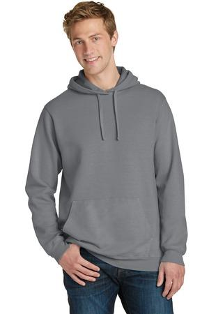 Port and Company Essential Pigment-Dyed Pullover Hooded Sweatshirt. PC098H