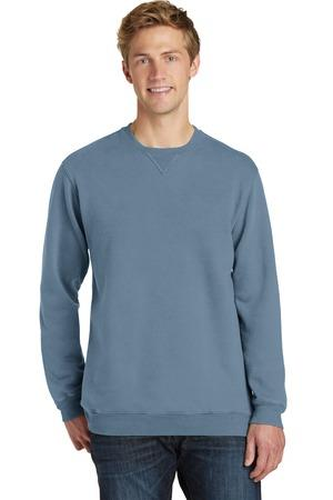 Port and Company Essential Pigment-Dyed Crewneck Sweatshirt. PC098