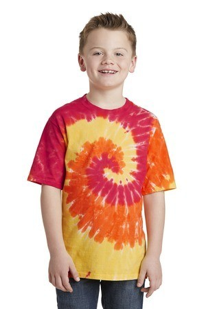 Port and Company - Youth Essential Tie-Dye Tee. PC147Y