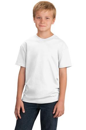 Port and Company - Youth 5.4-oz 100% Cotton T-Shirt. PC54Y