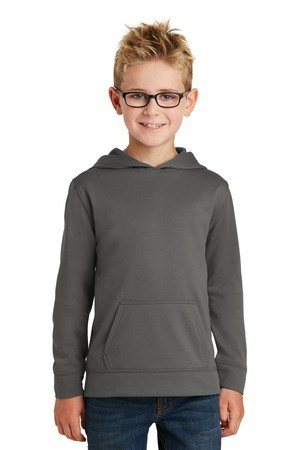 Port & Company Youth Performance Fleece Pullover Hooded Sweatshirt. PC590YH