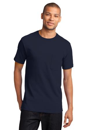 Port and Company - Tall Essential T-Shirt with Pocket. PC61PT