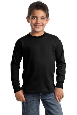 Port and Company - Youth Long Sleeve EssentialT-Shirt. PC61YLS