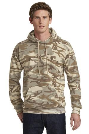 Port and Company Classic Camo Pullover HoodedSweatshirt. PC78HC