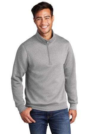 Port & Company Core Fleece 1/4-Zip Pullover Sweatshirt PC78Q