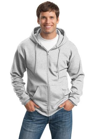 Port and Company Tall Ultimate Full- Zip Hooded Sweatshirt. PC90ZHT