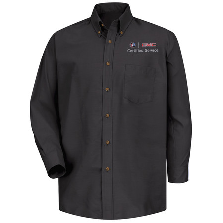 GM Official Apparel - Mens Bk Long Sleeve Poplin Buick GMC - 1915BK