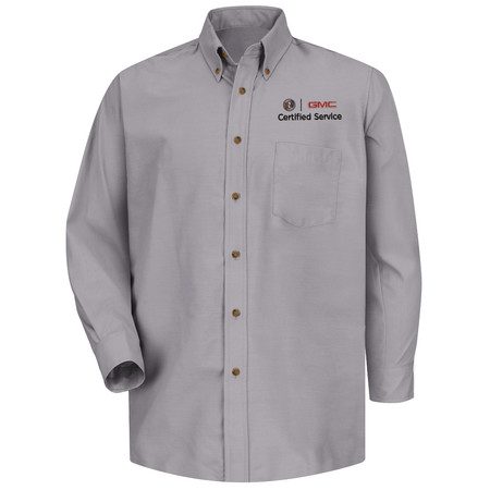 GM Official Apparel - Mens Sv Long Sleeve Poplin Buick GMC - 1916SV