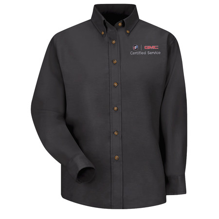 GM Official Apparel - Womens Bk Long Sleeve Poplin Buick GMC - 1918BK