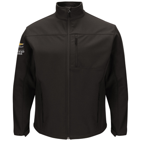 GM Official Apparel - Soft Shell Jacket Bk Chevy - 3108BK