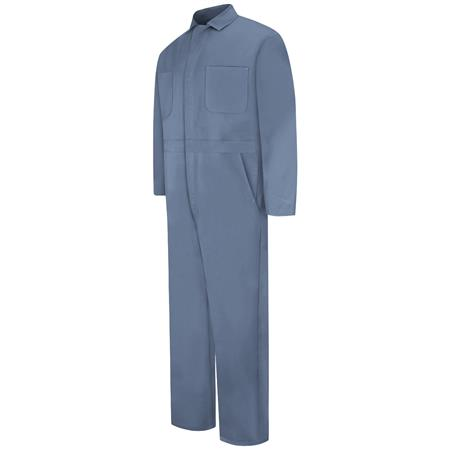 Snap-front Cotton Coverall CC14PB
