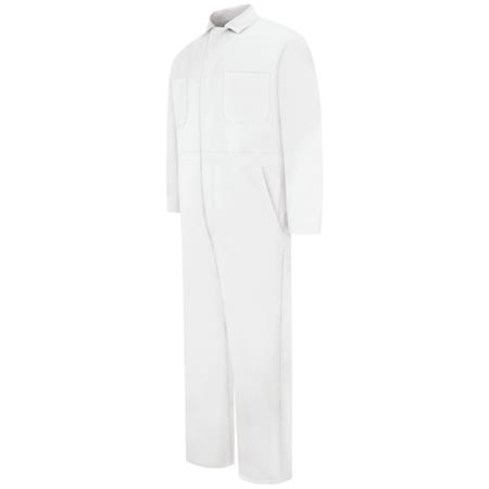 Snap-front Cotton Coverall CC14WH