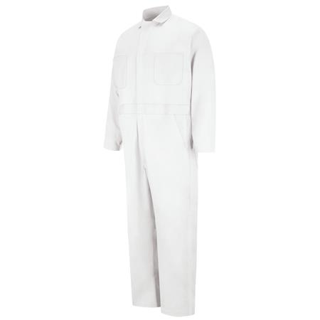 Button-front Cotton Coverall CC16WH