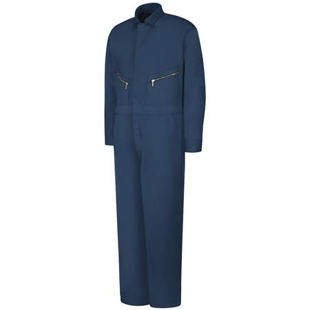 Zip-Front Cotton Coverall CC18NV