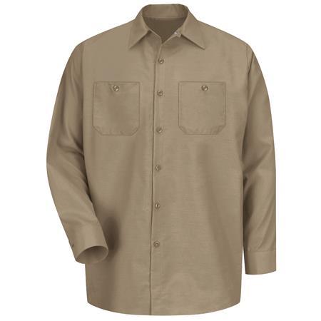 Red Kap® Men's Long-Sleeve Work Shirt SP14KK