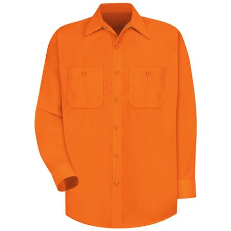 Red Kap Enhanced Visibility Work Shirt SS14OR